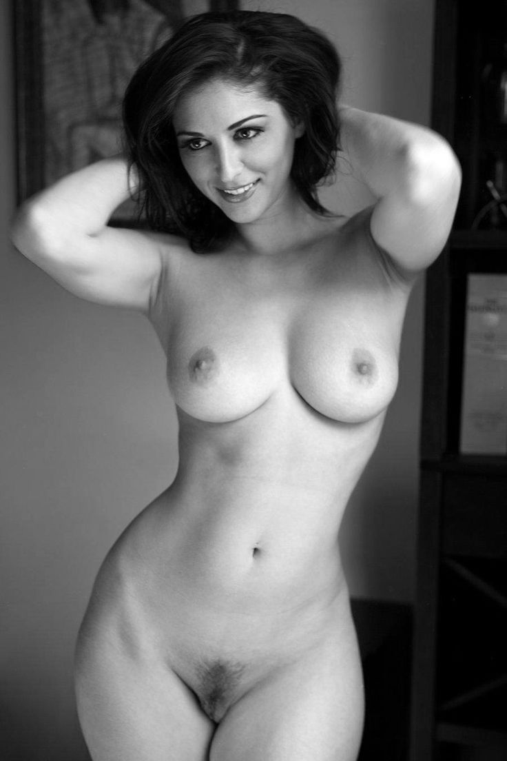 Naked women all alone