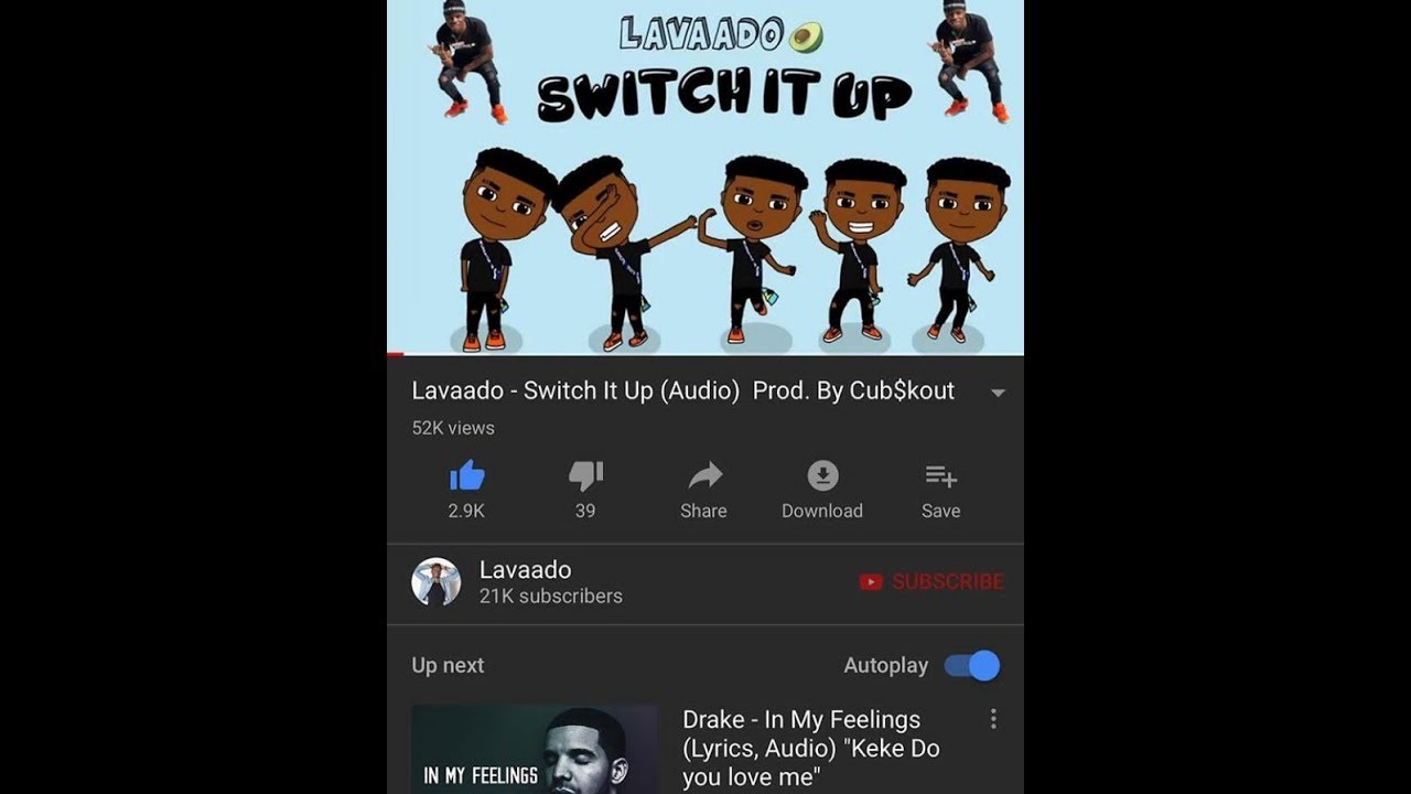 Switch it up dance video