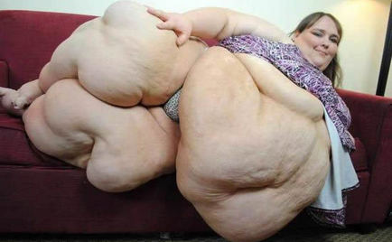 The fattest womans pussy